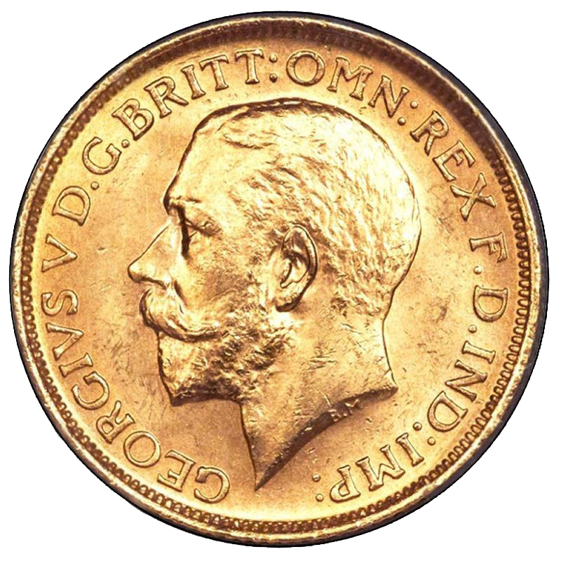 1913 George V Ottawa Mint Sovereign