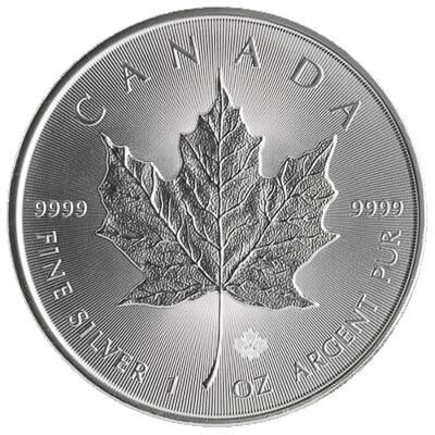 2017 1 oz Canadian Maple Silver Coin