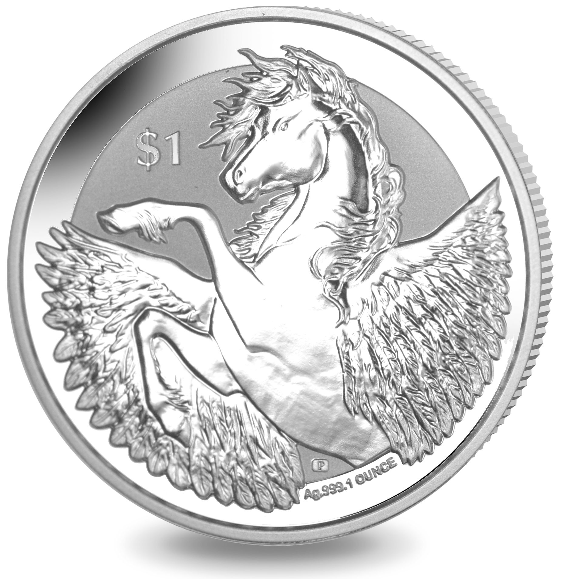 ​Pegasus - 2018 Reverse Frosted Silver