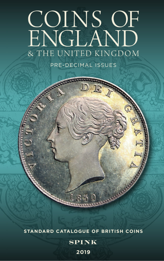 Coins of England & the United Kingdom pre decimal issue standard catalogue of British coins 2019