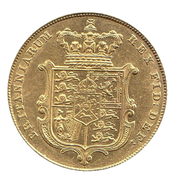 1828 George IV Full Sovereign - Extremely Rare