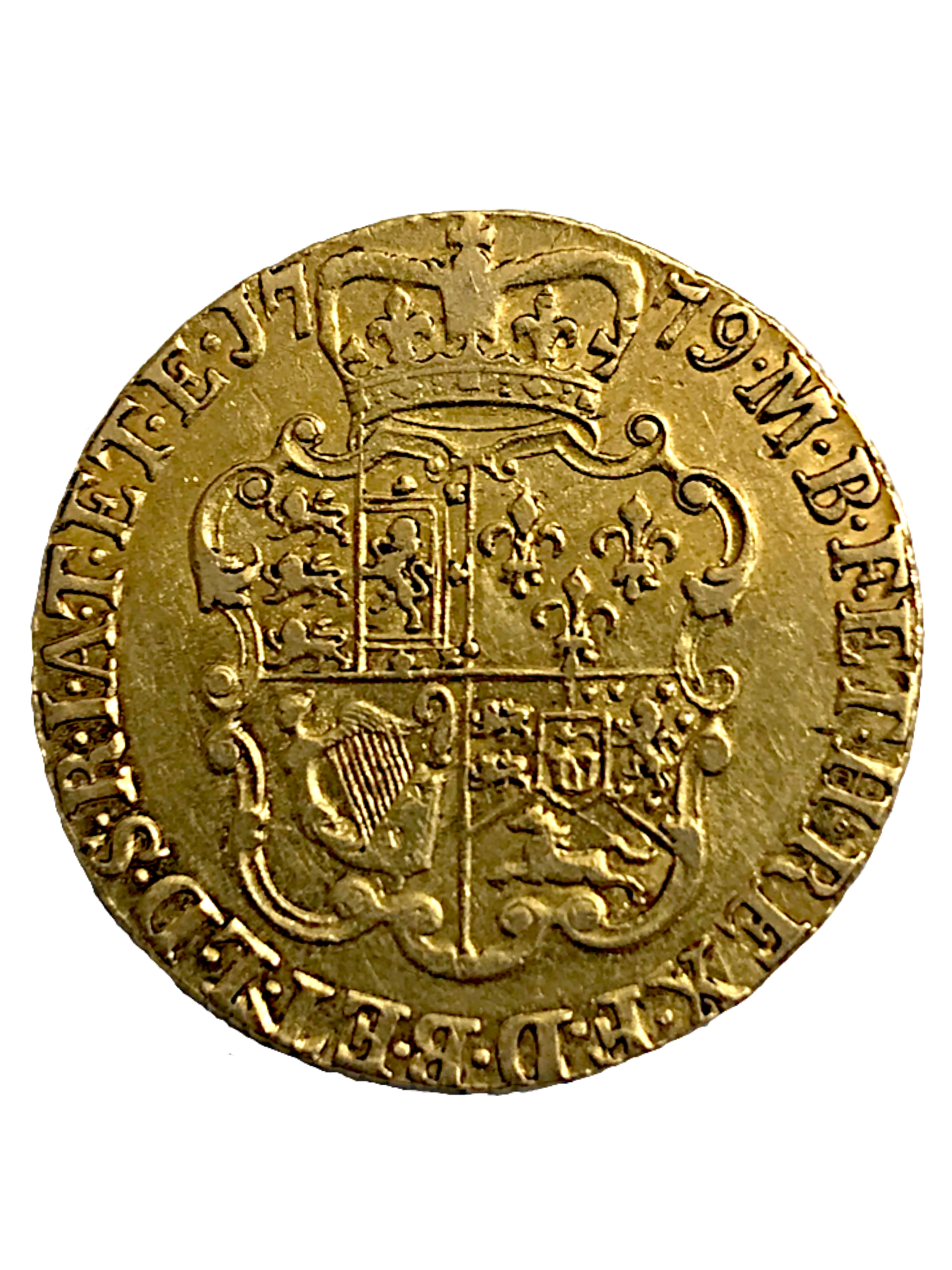 1779 King George III Gold Full Guinea